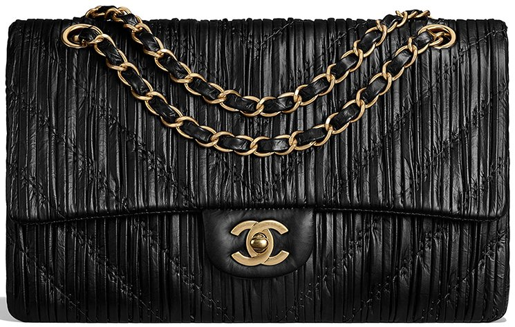 Chanel-Chevron-Stitched-Classic-Flap-Bag