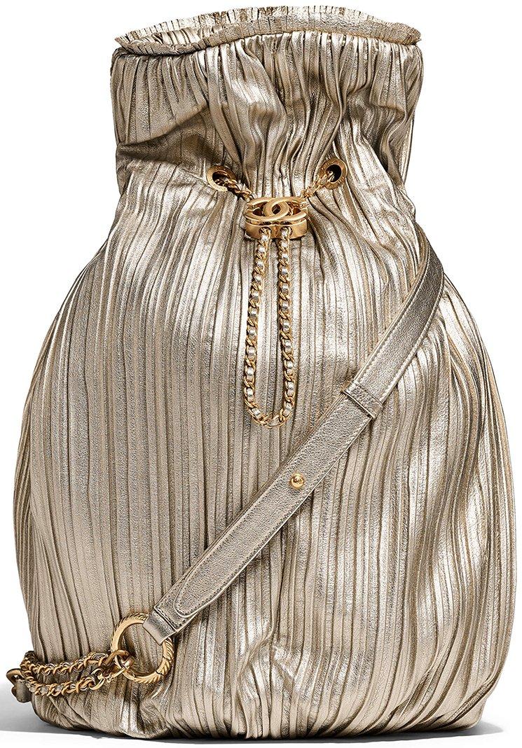 Chanel-Coco-Pleated-Drawstring-Bag-4