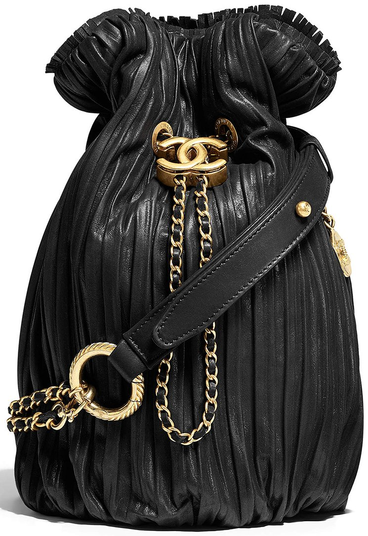 Chanel-Coco-Pleated-Drawstring-Bag-9