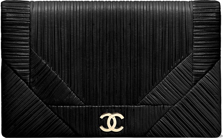 Chanel-Coco-Pleats-Clutch-Bag