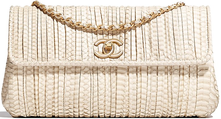 Chanel-Coco-Pleats-Clutch-with-Chain