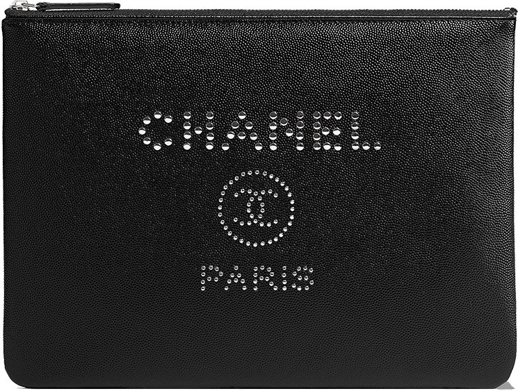 Chanel-Deauville-Studded-Logo-O-Case