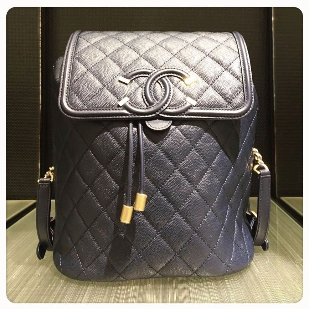 Chanel-CC-Filigree-Backpack