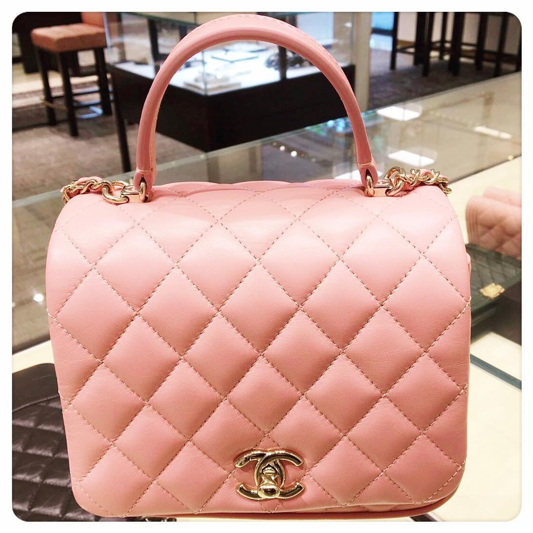 Chanel-Squared-Classic-Handle-Bag