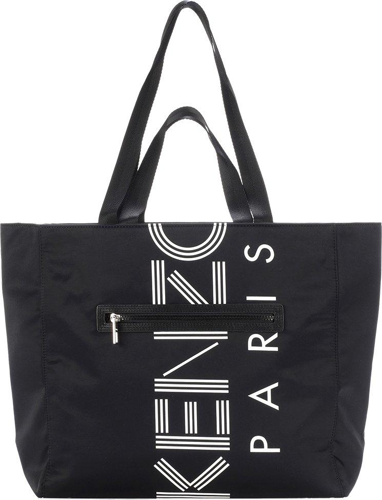 Kenzo-Logo-Tote-Bag