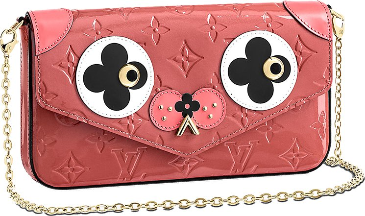 Louis-Vuitton-Valentine-Monogram-Animal-Face-Wallets