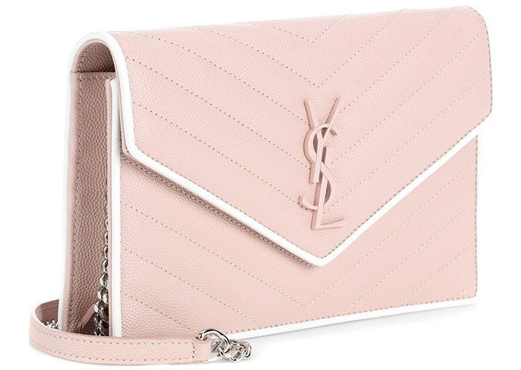 Saint-Laurent-Classic-Monogram-Envelope-Flap-Bag-4