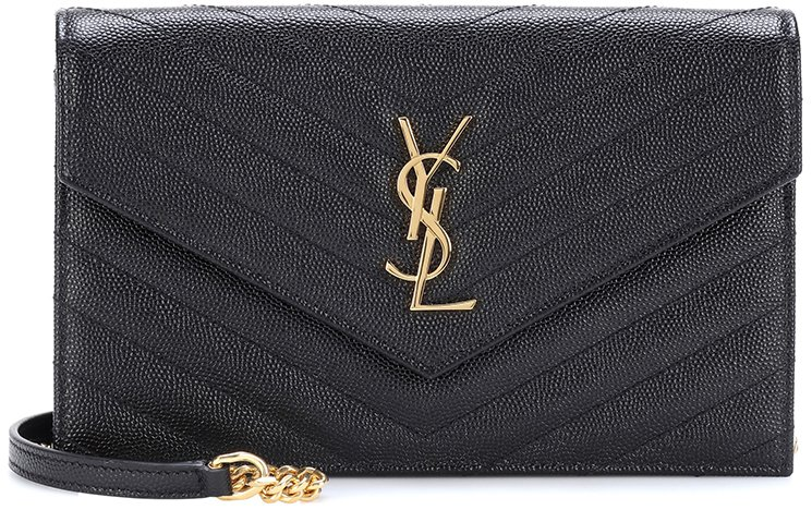 Saint-Laurent-Classic-Monogram-Envelope-Flap-Bag-6