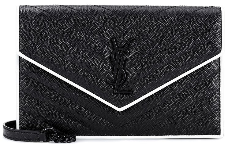 Saint-Laurent-Classic-Monogram-Envelope-Flap-Bag-8