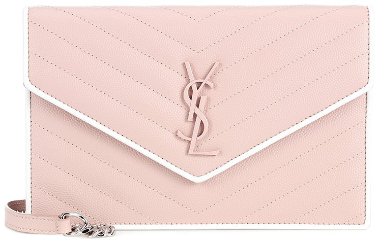 Saint-Laurent-Classic-Monogram-Envelope-Flap-Bag
