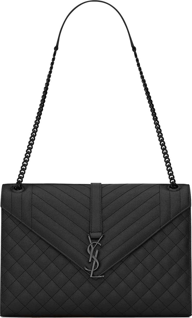 Saint-Laurent-Envelope-Chain-Bag-12