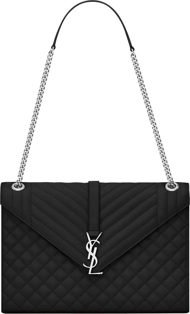 Saint-Laurent-Envelope-Chain-Bag-9