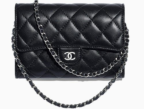 authorized site famous designer brand temperament shoes Chanel Classic Clutch With Chain – Bragmybag