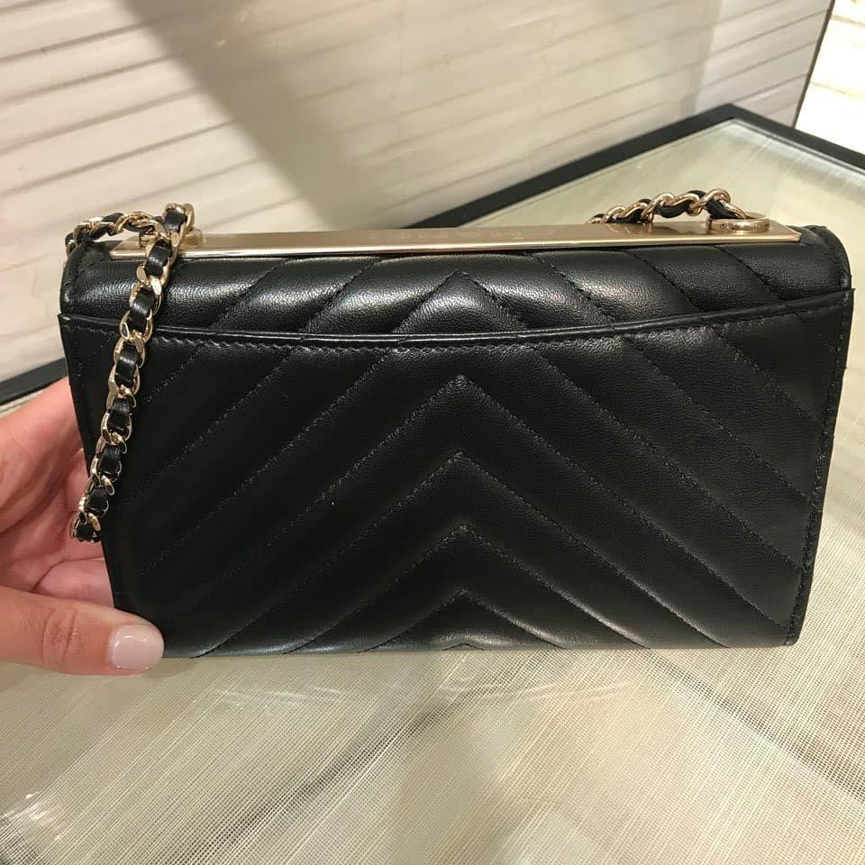 d7276ab0deaec Chanel Trendy CC Chevron Flap Bag – Bragmybag