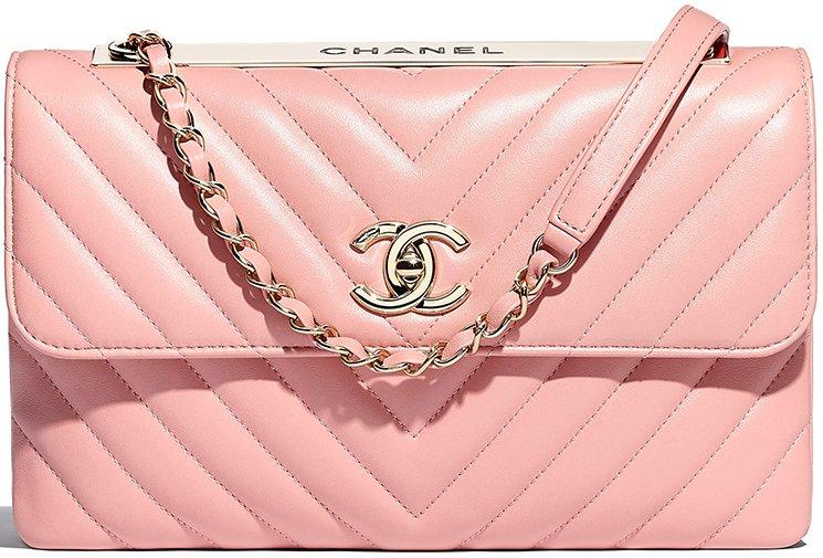 7fabf768a8d1af Chanel Trendy CC Chevron Flap Bag | Bragmybag