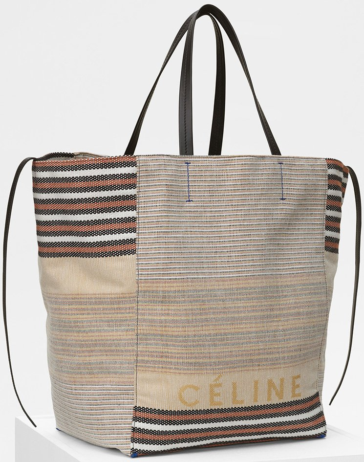 Celine-Large-Phantom-Bag-in-Multicolor-Cotton-And-Textile-2