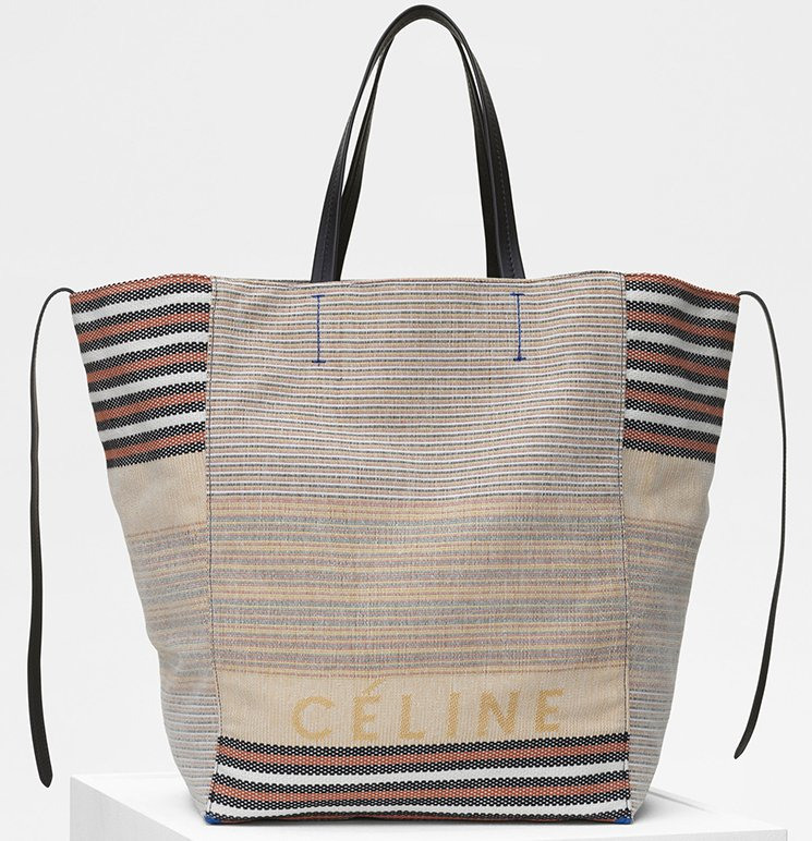 Celine-Large-Phantom-Bag-in-Multicolor-Cotton-And-Textile-4