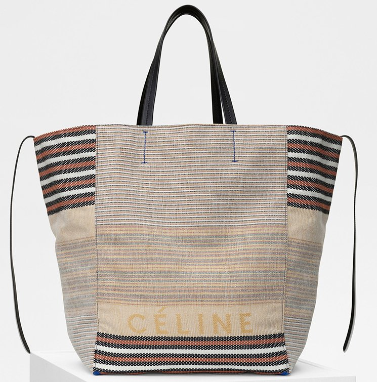 Celine-Large-Phantom-Bag-in-Multicolor-Cotton-And-Textile