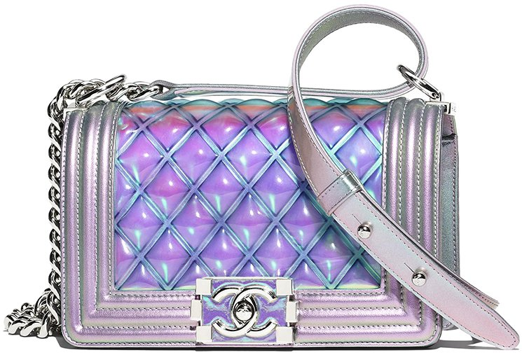 Chanel-Boy-PVC-Quilted-Bag