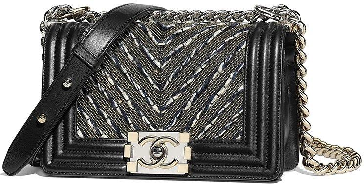 Chanel-Boy-Tweed-Chain-Chevron-Bag-7