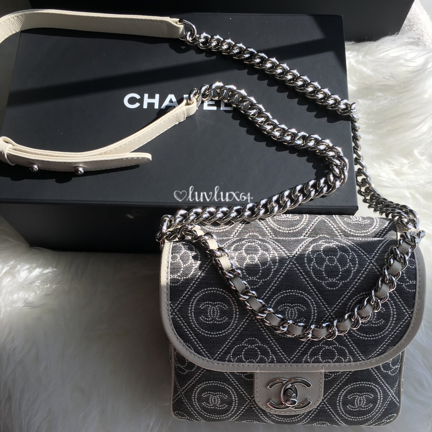Chanel-Camellia-Logo-Square-Bag-2