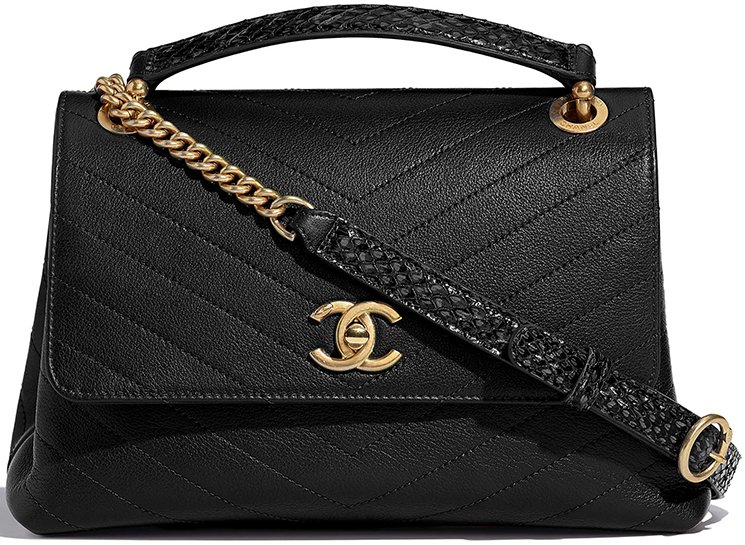 Chanel-Chevron-Chic-Bag-Collection