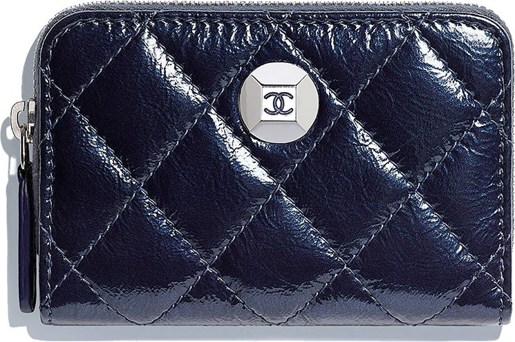Chanel-Diamond-Coin-Purse-And-Card-Holder