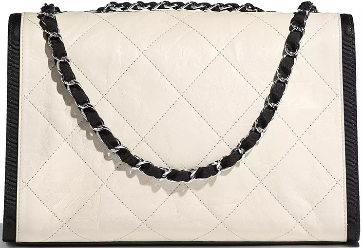 Chanel-Ivory-Black-Calfskin-Bag-2