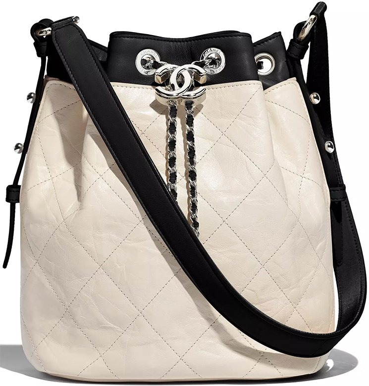 Chanel-Ivory-Black-Calfskin-Bag-4