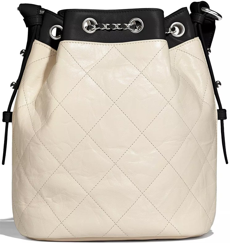 Chanel-Ivory-Black-Calfskin-Bag-5