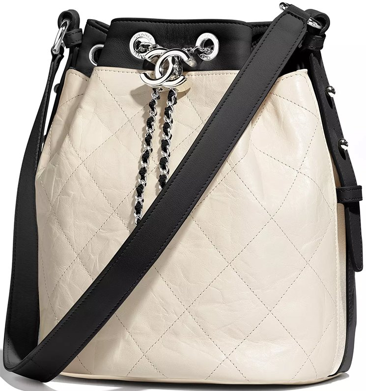 Chanel-Ivory-Black-Calfskin-Bag-6