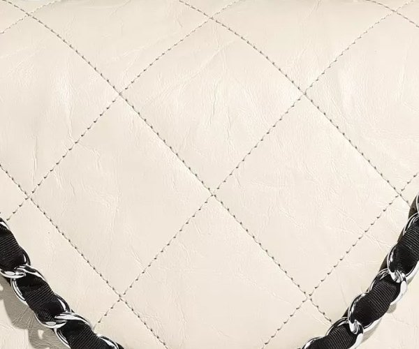 Chanel-Ivory-Black-Calfskin-Bag-7