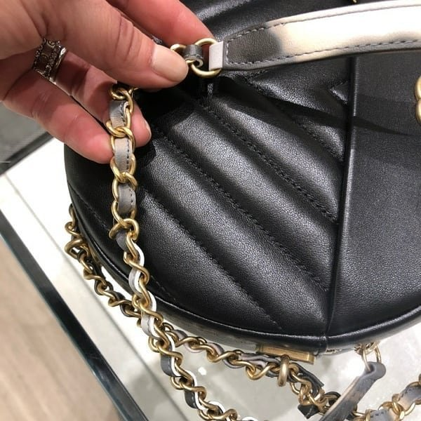 Chanel Round As Earth Chevron Bag Bragmybag