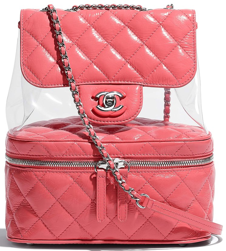 Chanel-Transparent-Vanity-Flap-Backpack-4
