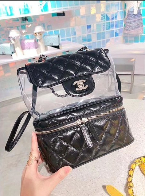 Chanel-Transparent-Vanity-Flap-Backpack-5