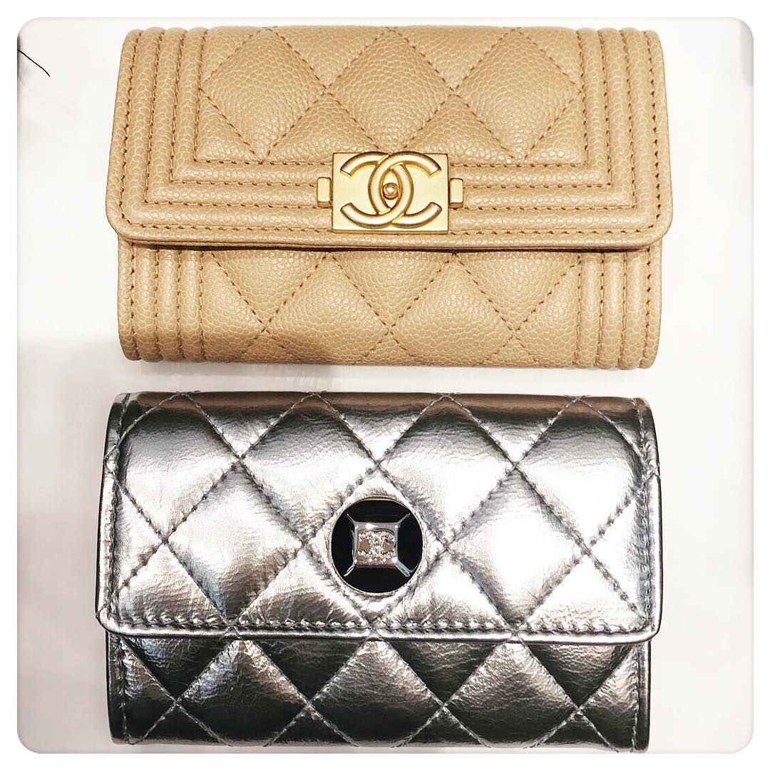 Chanel-diamond-cc-wallet
