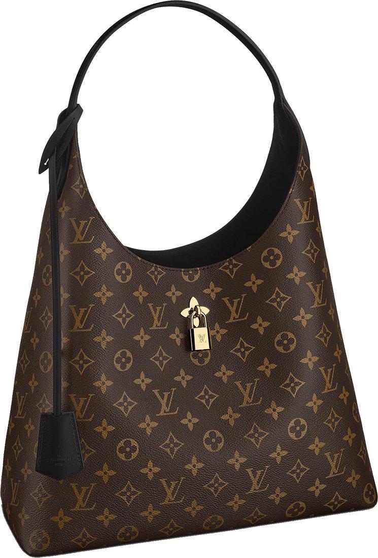 Louis-Vuitton-Hobo-Flower-Bag