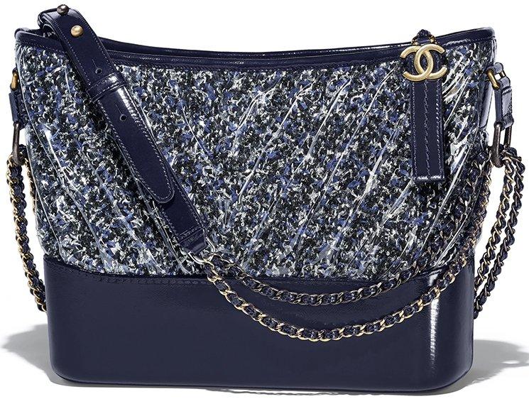 12ba52196e2f Chanel s Tweed Gabrielle Hobo Bag
