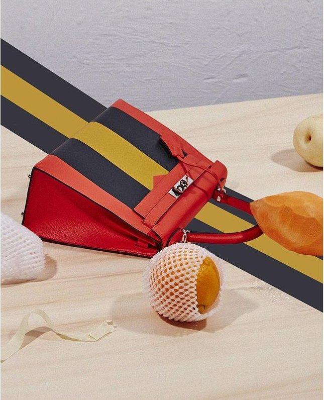 Hermes-Kelly-Striped-Bag-2