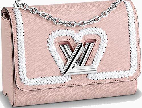 Louis Vuitton Braided Heart Twist Bag – Bragmybag a5656d85549e9