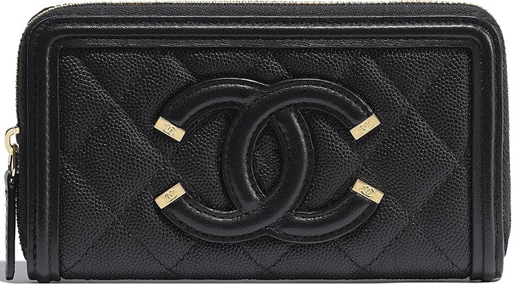 Chanel-CC-Filigree-Wallets
