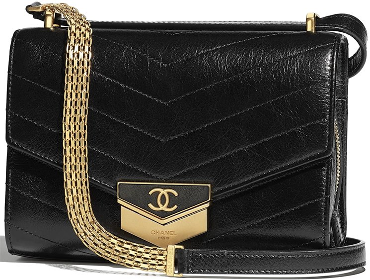 Chanel-Chevron-Medal-Flap-Bag
