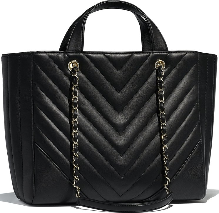 935ebc4442 Chanel-Chevron-Statement-Tote-Bag-2