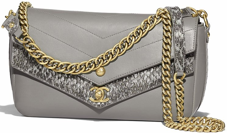 Chanel-Elaphe-Double-Chevron-Flap-Bag-4