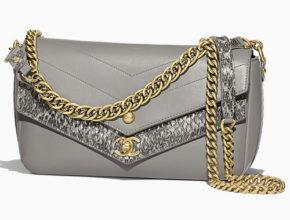 Chanel Elaphe Double Chevron Flap Bag ff47131f7519c