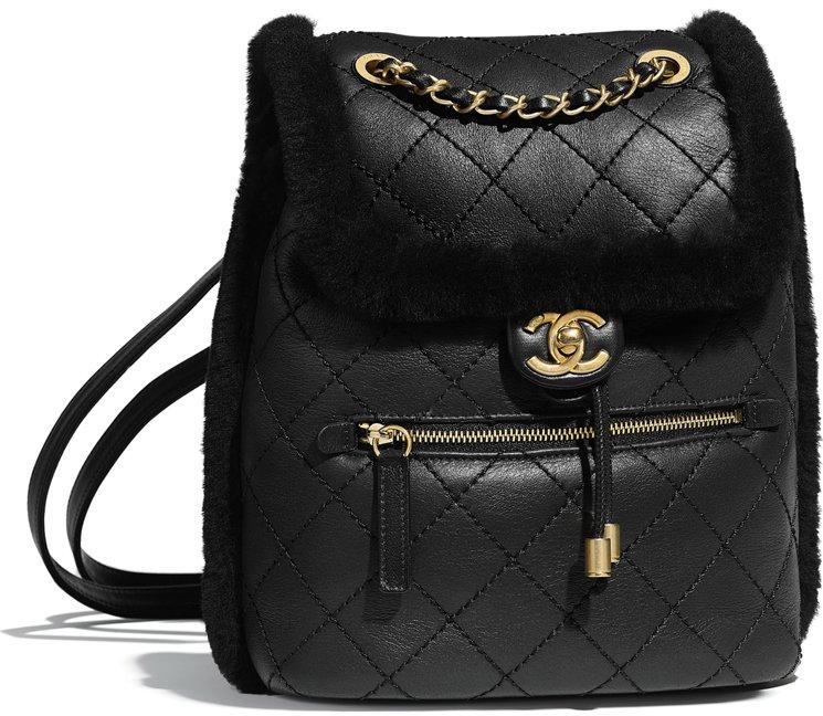 Chanel-Sheerling-Lambskin-Backpack