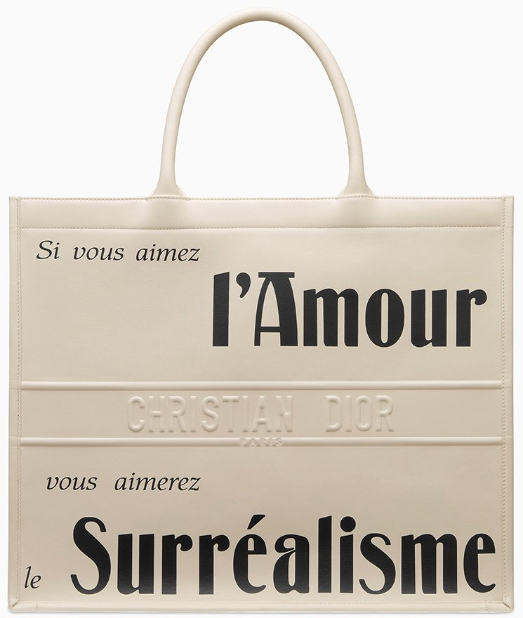 Dior-Surrealism-Book-Tote-Bag
