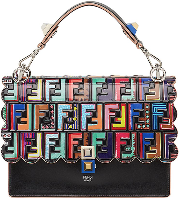 Fendi-Kan-I-Logo-Embossed-Bag-8