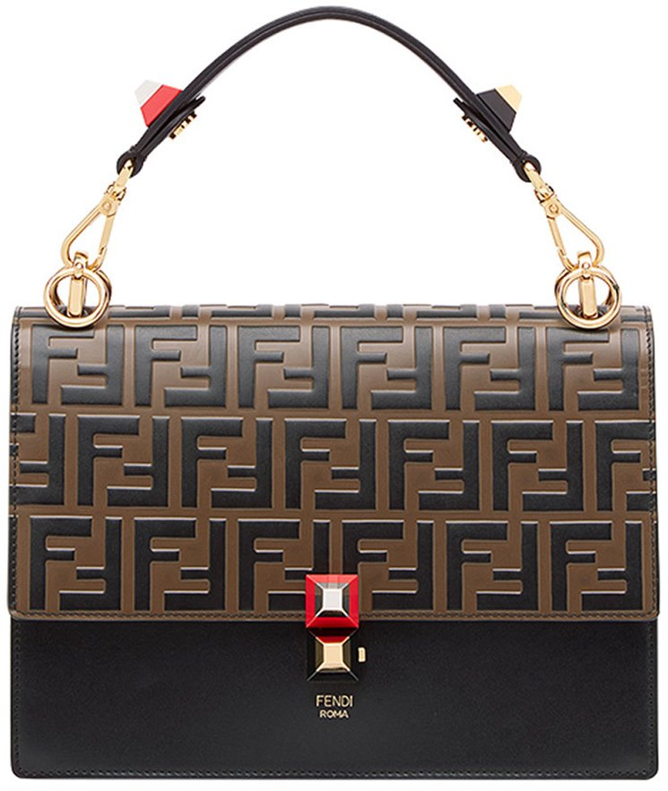 Fendi-Kan-I-Logo-Embossed-Bag-9