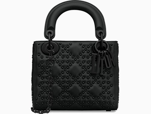 Lady Dior So Black Bag